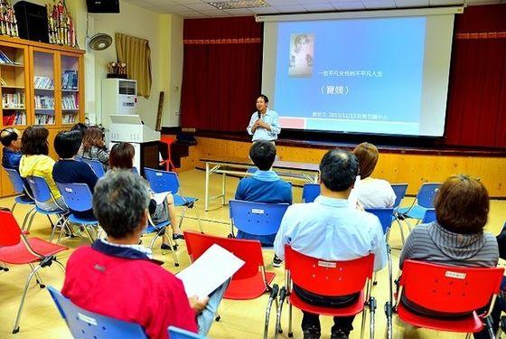 劉宏文老師重返東引國中小分享《寶姨》創作歷程  照片