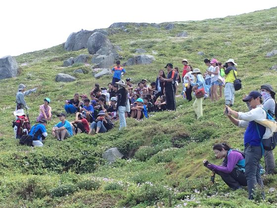 辦理環境教育主題活動-海洋環境生態踏察  圖片