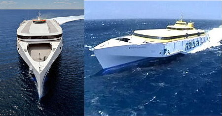 三體船更勝任台馬航程  照片