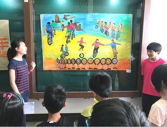 東引國小「2個人的畢業美展」 展現畢業生繪畫創作  照片