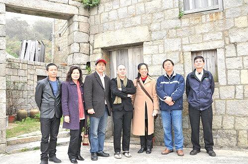 蔡明亮參訪芹壁 體驗閩東聚落風情 照片