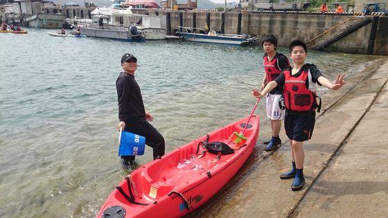 獨木舟體驗課程  照片
