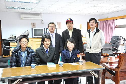 福建連江地方法院首次下鄉服務到北竿 照片