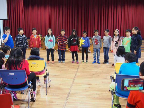 校內歌唱比賽花絮  照片