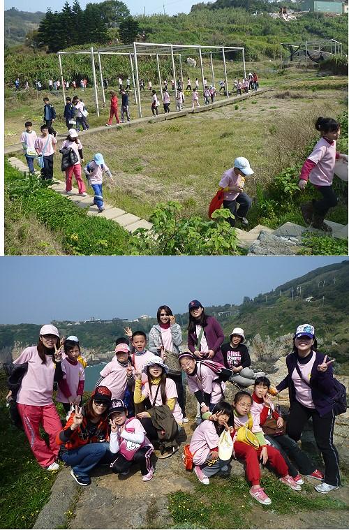 東引國中小慶祝青年節暨兒童節 走出戶外踏青去   照片