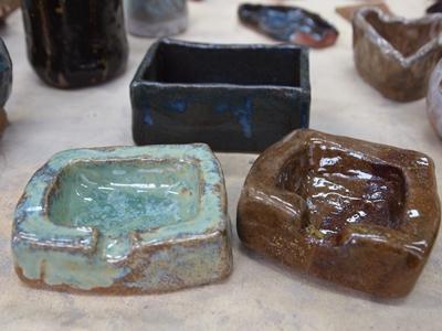 101.2.20學生陶藝釉燒作品  照片