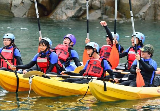 藍山邂逅藍海Day3 獨木舟體驗&浮潛課程(鄭子駿攝)  照片