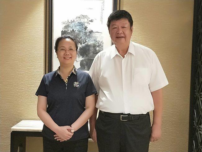 立委陳雪生拜會福建省台辦王玲主任商談馬祖小三通事務  照片