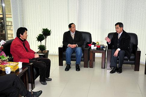 議長陳貴忠展開南竿拜會行程  照片
