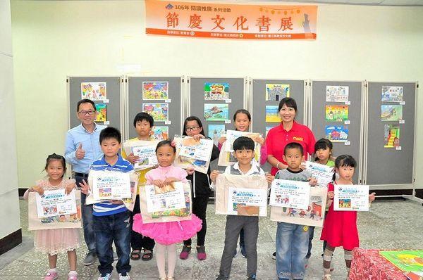 配合媽祖昇天祭 文化處推出節慶文化書展一連3天  照片