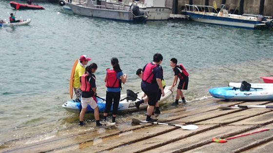獨木舟體驗課程  圖片
