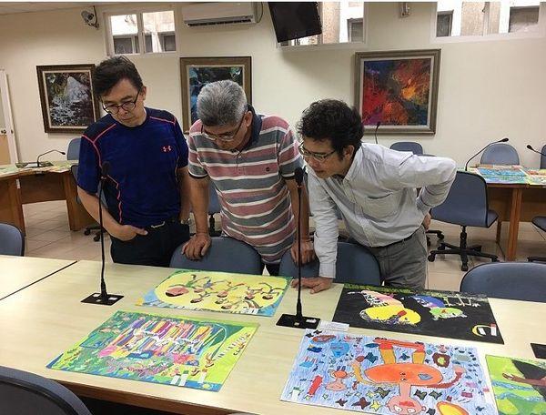 全國學生美術比賽縣內複賽成績揭曉  圖片